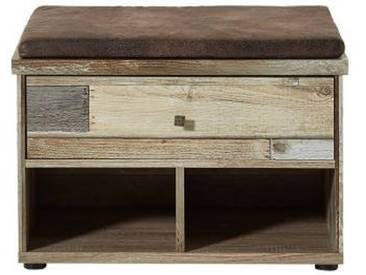 Bank RANCH, Vintage, Holznachbildung