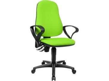 Topstar Drehstuhl POINT 60, grün, Kunststoff