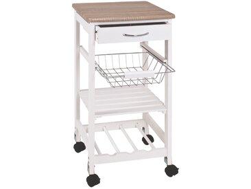 Zurbrüggen Küchenwagen, Weiß, MDF