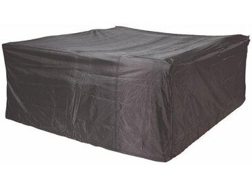 Zurbrüggen Loungesethülle AERO COVER, schwarz, Kunststoff
