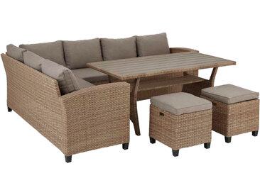 Ambia Lounge-Set LIONEL, beige, Stoff