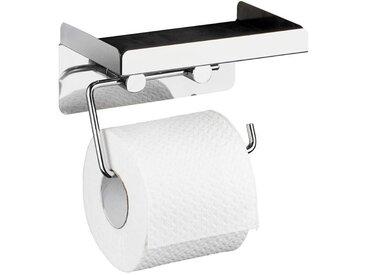 Zurbrüggen Toilettenpapierhalter 2 in 1, edelstahl, Edelstahl