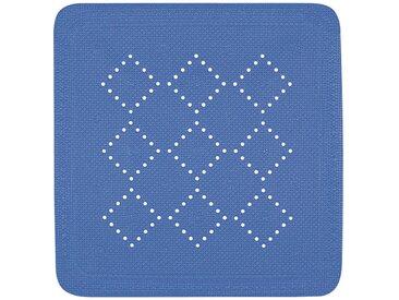 Spirella Wanneneinlage 55X55 ALASKA, blau, PVC