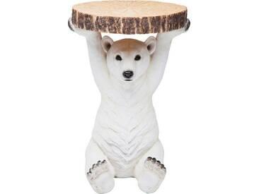 Karé Beistelltisch Eisbär Beistelltische Animal, Motiv, Polyresin