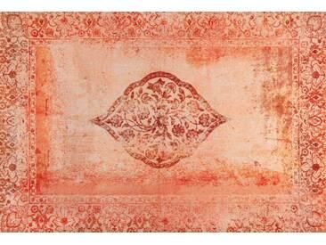 Kleen-Tex Fußmatte Vintage Bloom, rot, Polyamid