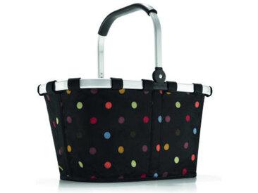 reisenthel Carrybag Punkte, schwarz, Polyester