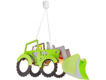 Elobra PL Traktor XXL grün, Grün, Holz
