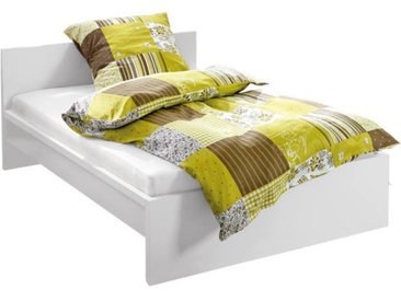 Z2 Bett MALMÖ, Weiß, Holznachbildung