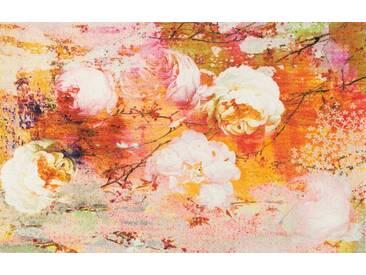 Kleen-Tex Fußmatte Loving rosa, orange, Polyamid