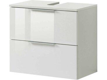Zurbrüggen Waschbeckenunterschrank RAVELLO, Weiß, Holznachbildung