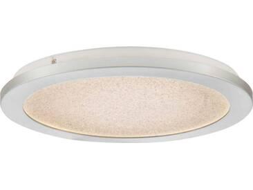 Nino Leuchten LED Deckenleuchte IKOMA, Weiß, Kunststoff