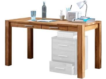 Linea Natura Schreibtisch OKAY, wildeiche, Holz