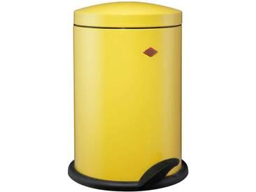 Wesco Tretabfallsammler 116, gelb, Edelstahl