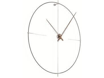Runde Uhr  Bilbao  in minimalistischem Design