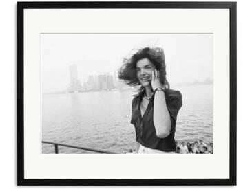 Schwarz Weiß Foto Jacky Kennedy