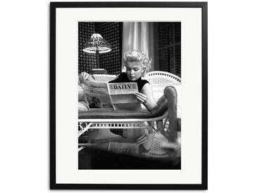 Marilyn Monroe Bilder: NYC Schwarz Weiß Foto gerahmt