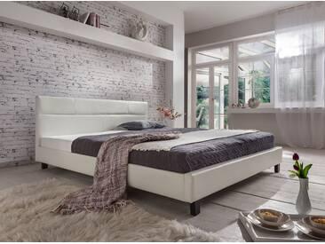 SAM® Polsterbett weiß Doppelbett 180x200 cm  PELLISIMA