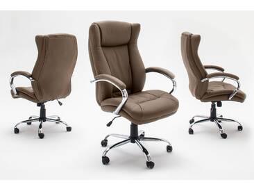 MCA Furniture Chefsessel Porter Cappucino; 68 cmx73 cmx116-126 cm, 62475CP3