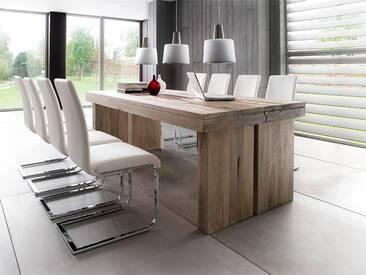 MCA furniture Dublin Esstisch Eiche massiv 220x100 Eiche massiv verwittert