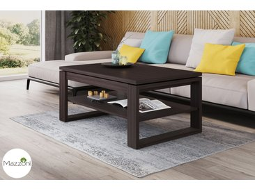 Design Couchtisch Multifunktionstisch Arbeitstisch Tisch Nuo Walnuss Wenge Ablagefläche Esstisch