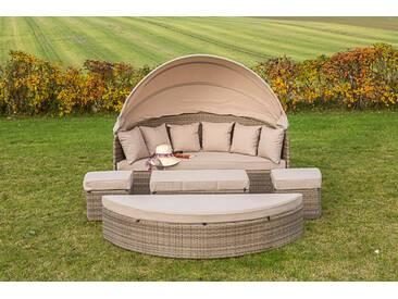 Merxx Relaxinsel Riva Lounge Set, natur/beige