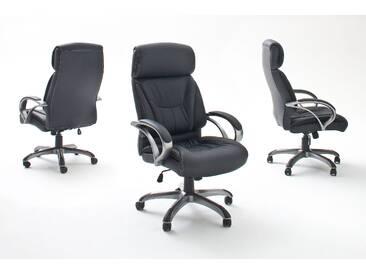 MCA Furniture Chefsessel Ben Schwarz; 66 cmx72 cmx103-111 cm, 62456S3