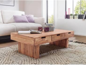 Couchtisch MUMBAI Massivholz Akazie Design Wohnzimmer-Tisch