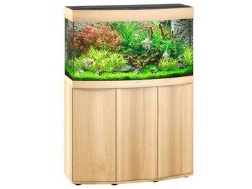 Juwel Aquarium Vision 180 Komplettaquarium +Heizstab +Innenfilter +LED, Unterschrank:mit Unterschrank, Aquariumfarbe:helles Holz