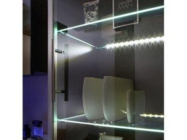 Glasbodenbeleuchtung LED alu