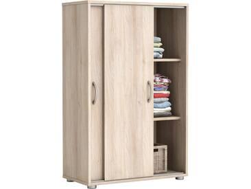 Wäscheschrank Selina Akazie 2 Türen B 68 cm H 106 cm Jugendzimmer Schlafzimmer Kinderzimmer Schrank Schiebetürenschrank Holzschrank Kleiderschrank