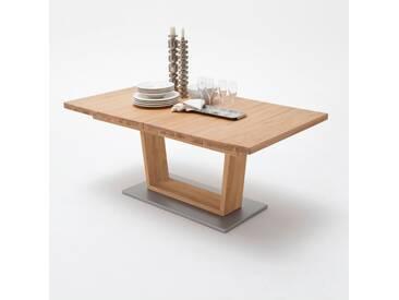 MCA Furniture Esstisch Cantania Cantania, Braun, 140,00cm x 90,00cm x 75,00cm, Massivholz, CAN14AWE