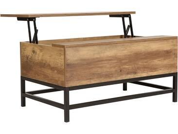 Couchtisch Klappfunktion Wohnzimmer Tisch Holz Sofa Truhe Truhentisch Holztisch