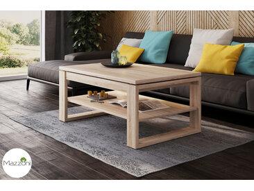 Design Couchtisch Multifunktionstisch Arbeitstisch Tisch Nuo Sonoma Eiche Ablagefläche Esstisch