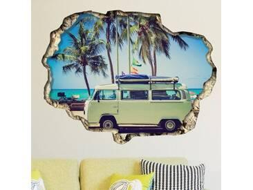 Wandtattoo Camper Van