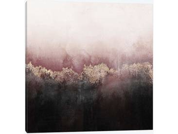 Pink Sky by Elisabeth Fredriksson Graphic Art Print on Wrapped Canvas