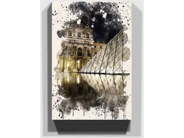 Leinwandbild Louvre in Paris, Frankreich