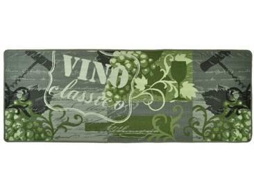 Teppich Vino Classico in Grau/Grün