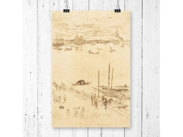 Poster Venice von James Abbott McNeill Whistler