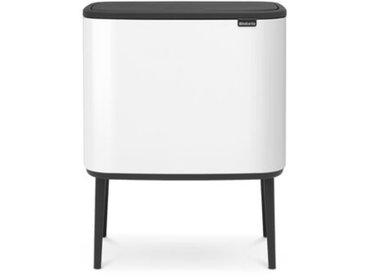 Müllcontainer mit mehreren Fächern Bo Touch mit Touch-Deckel