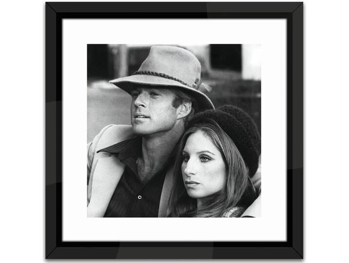 Robert Redford and Barbra Streisand Framed Phot...
