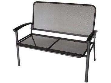 2-Sitzer Gartenbank Phlox aus Metall