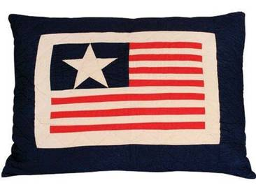 Sofakissen Lone Star and Stripes