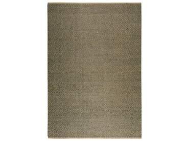 Handgefertigter Teppich Nature in Braun