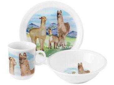 3-tlg. Kindergeschirrset Compact Alpaka