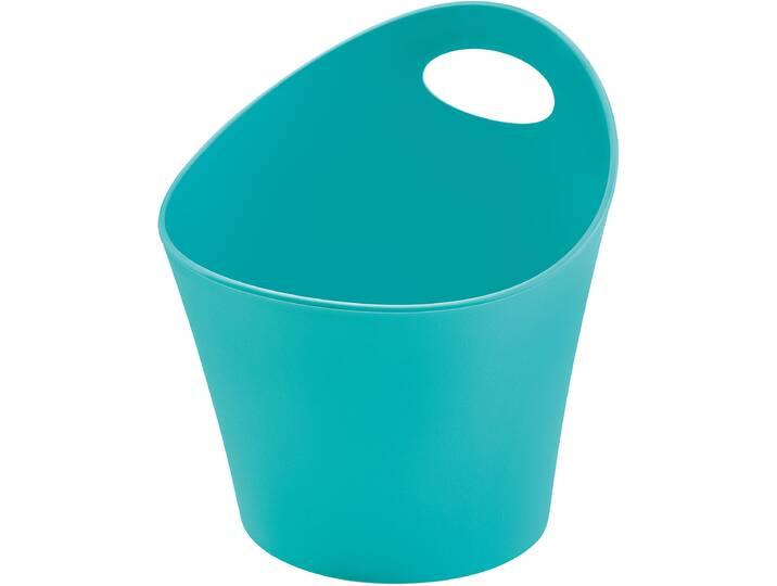 Aufbewahrungskorb Pottichelli aus Kunststoff Weiß