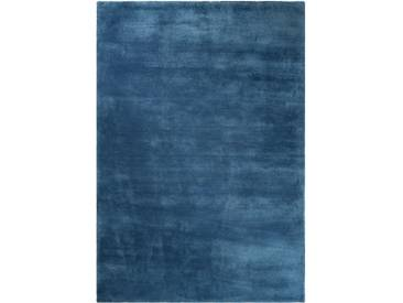 Handgefertigter Teppich Loft in Blau