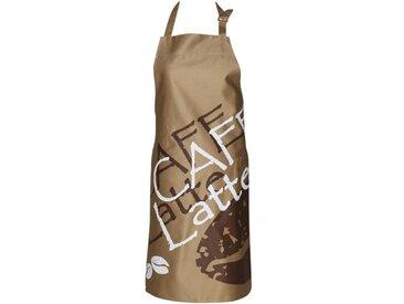 Schürze Cafe Latte aus Baumwolle