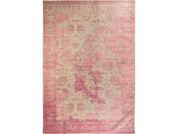 Flachgewebe-Teppich Frencie Vintage in Rot/Orange
