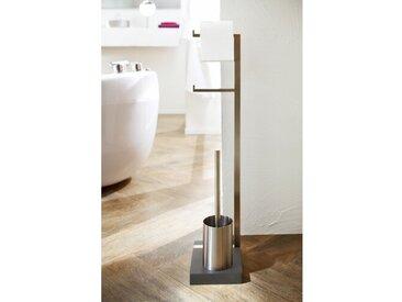 Freistehender Toilettenbürsten- und Papierhalter Menoto