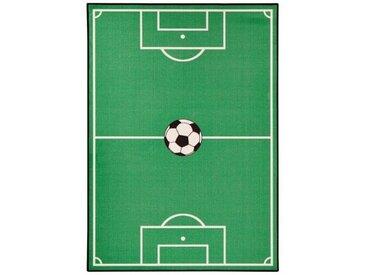 Teppich  Spielteppich Fußballfeld in Grün